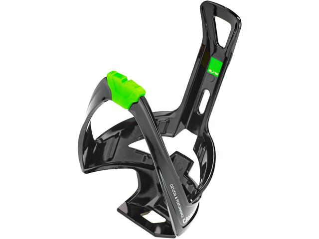Elite Cannibal XC Uchwyt na bidon, glossy black/green design